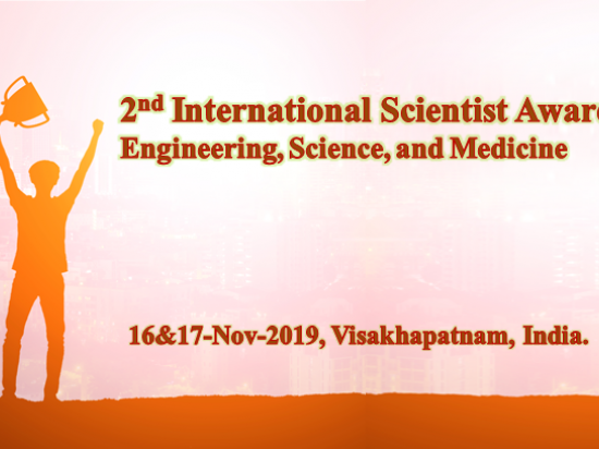 2nd International Scientist Awards on Engineering, Science, and Medicine