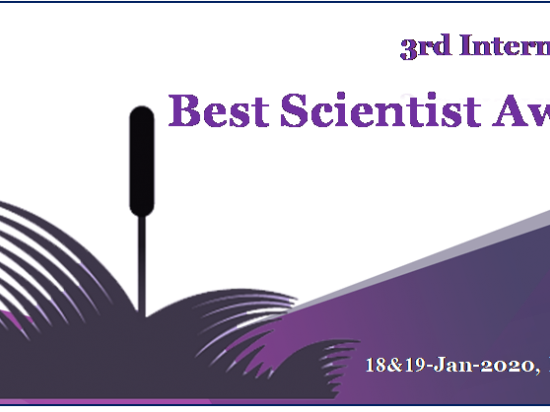 3rd International Best Scientist Awards