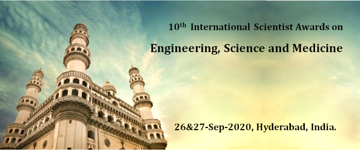 10th International Scientist Awards on Engineering, Science, and Medicine