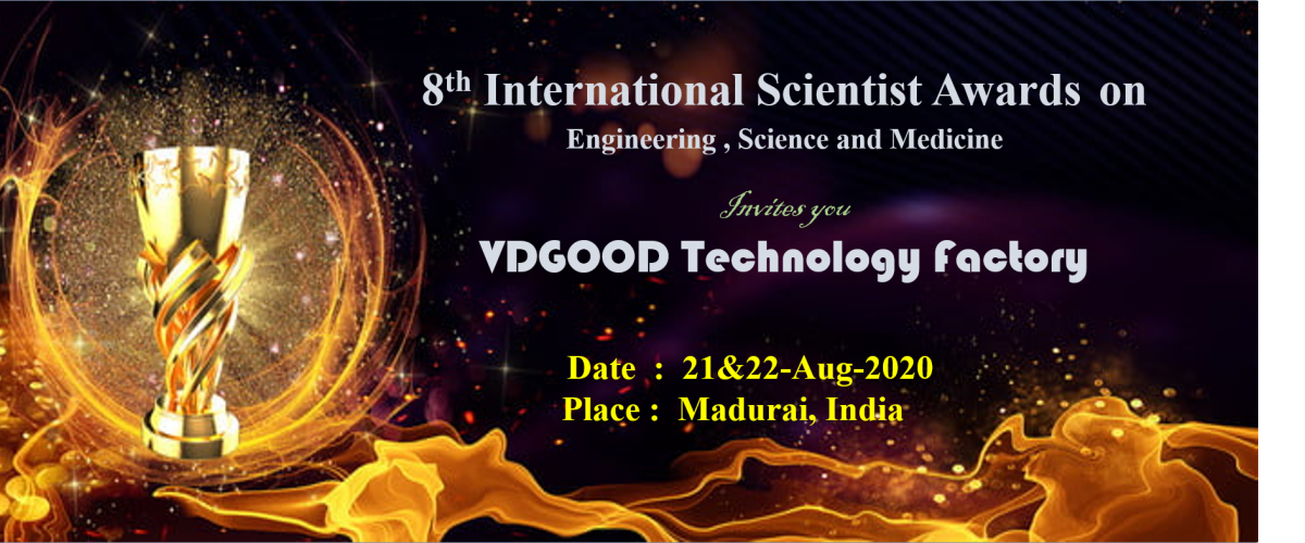 8th International Scientist Awards on Engineering, Science, and Medicine