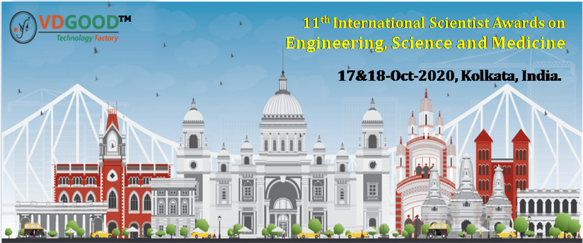 11th International Scientist Awards on Engineering, Science, and Medicine