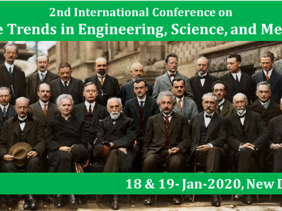 2nd International Conference on Future Trends in Engineering, Science, and Medicine
